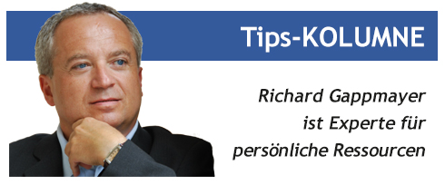Gappmayer, Tips, Kirchdorf, Kolumne, Experte, persönliche Ressourcen