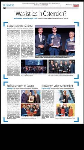 Was ist los: Constantinus Award